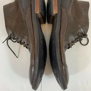 Cole Haan Shoes - Cole Haan Mens Brown Leather Chukka Chelsey Boots